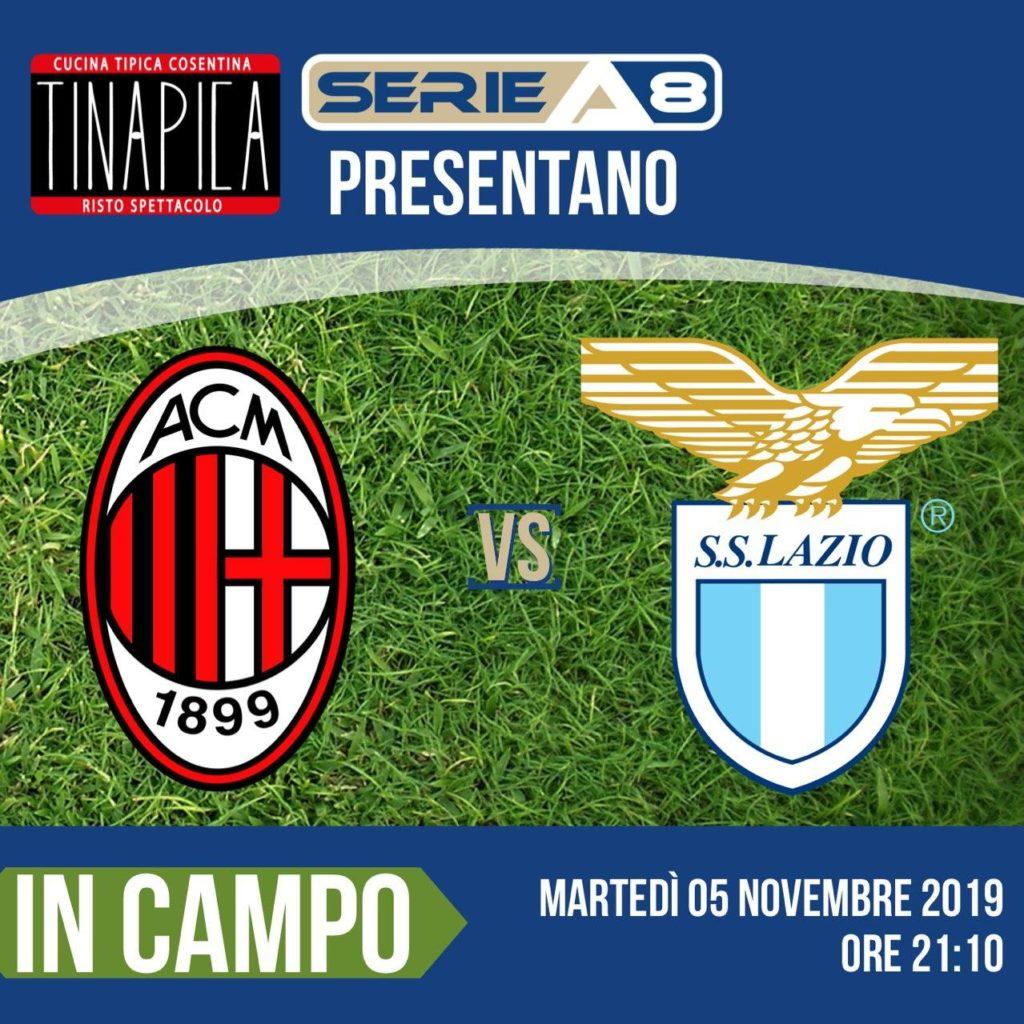 A1 – Milan vs Lazio 05/11/2019